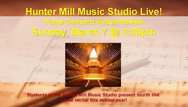 Virtual Concert Halls presents live performances, masterclasses, and more! image