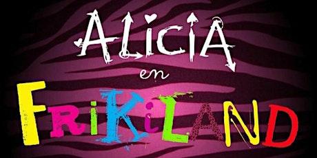 """Alicia en Frikiland + Película """"La Dama y el Vagabundo"""" Disney entradas"""