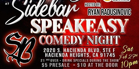 The SideBar presents: Comedy Night w/ Frank Castillo tickets
