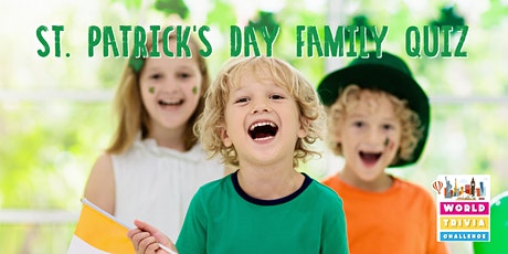 Family Trivia Night | St. Patrick's Ireland Quiz | Live Interactive Quiz tickets