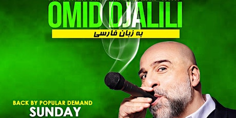 Another  Virtual Evening with Omid Djalili (In Farsi) - London Time tickets