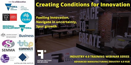 Creating Conditions for Innovation tickets
