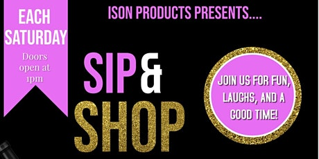 Shop and Sip tickets