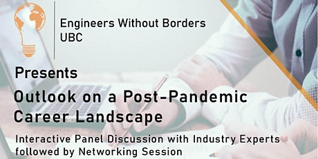 Outlook on a Post-Pandemic Career Landscape tickets