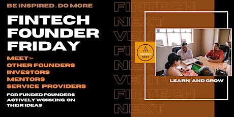 Fintech Founder Friday tickets