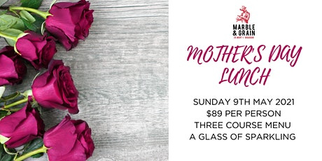 Mother's Day Lunch at Marble & Grain tickets