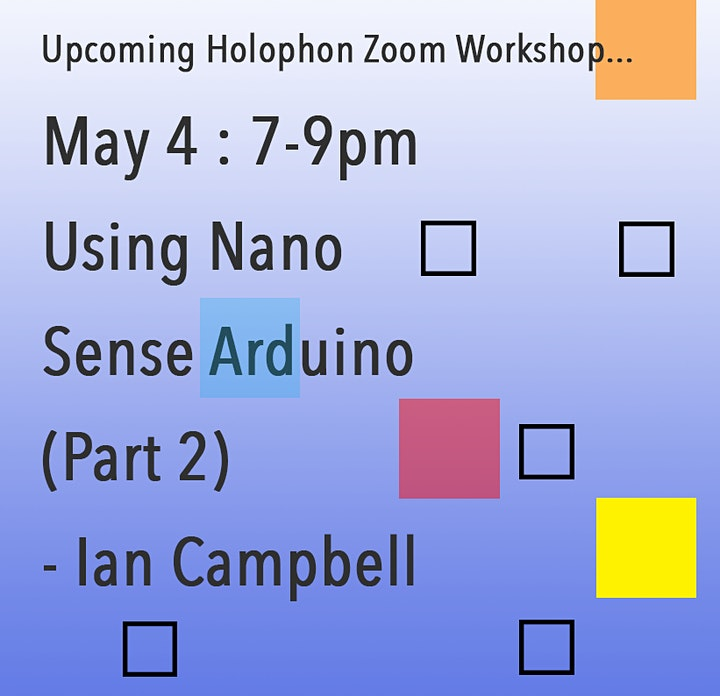Using Nano Sense Arduino (Part 2) - Ian Campbell image