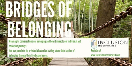 Bridges of Belonging - Conversation #24 with Josh Dueck and Bruce Kirkby tickets