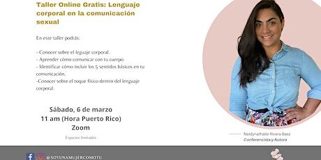Taller Gratis: Lenguaje corporal en la comunicación sexual entradas
