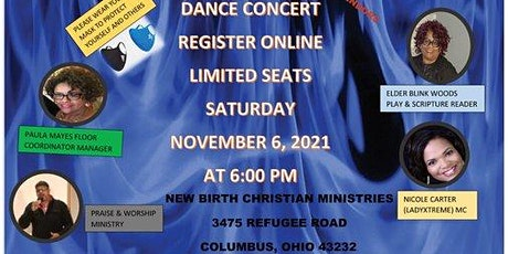 FREE ADMISSION TICKETS  DANCE CONCERT NOVEMBER 6, 2021 6PM tickets