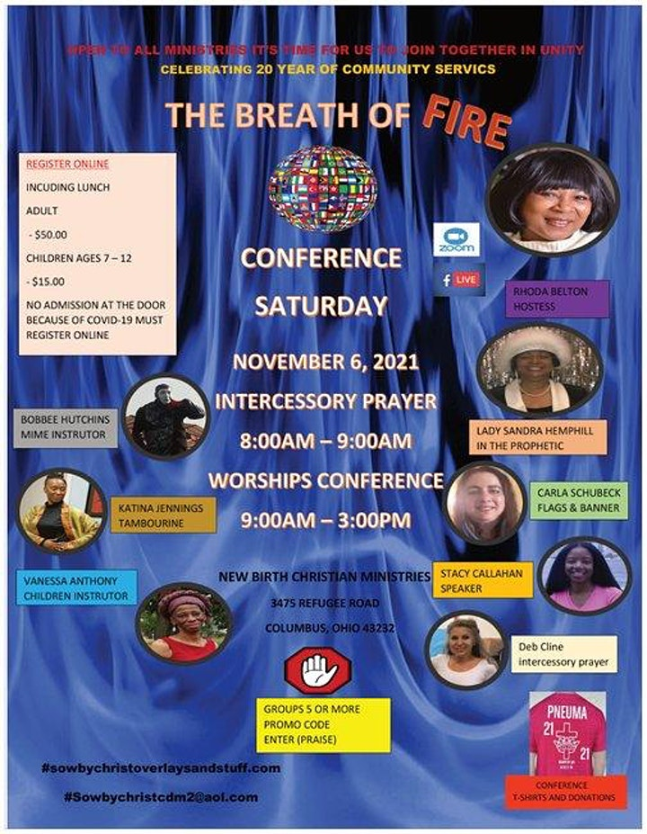 THE BREATH OF FIRE CONFERENCE image