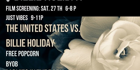 FILM SCREENING: THE UNITED STATES VS. BILLIE HOLIDAY + JUST VIBES tickets