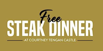 Free Steak Dinner Tengan Castle