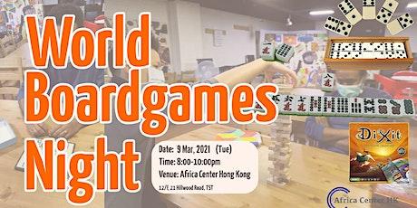 World Board Game Night tickets