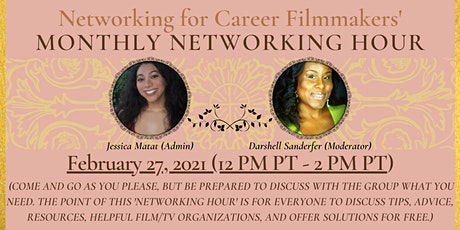 Networking for Career Filmmakers' Networking Hour tickets