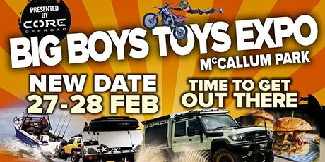 Big Boys Toys Expo Perth tickets