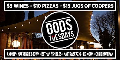 Gods Tuesdays - March 2nd tickets