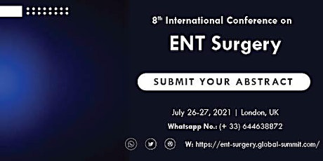 8th International Conference on  ENT Surgery tickets