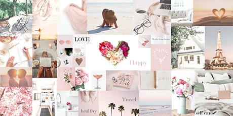 Design Your Life Online Vision Board Workshop - make your dreams reality tickets