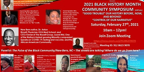 The FHC Presents The 2021 Black History Month Community Symposium_Virtual tickets