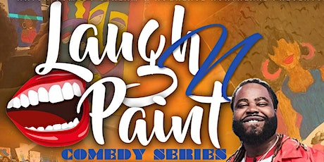 Laugh and Paint Comedy Series (Virtual Comedy) tickets