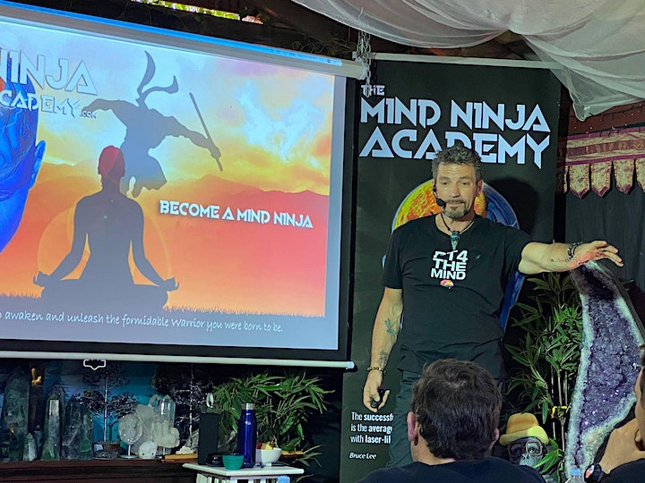 BECOME A MIND NINJA - FULL DAY IMMERSION WITH MICHAEL BENNETT image