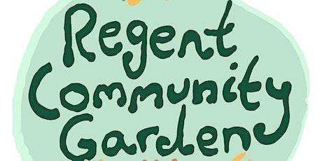 Regent Community Garden Launch celebration tickets
