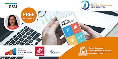 Digital Marketing Health Check (Exmouth) tickets