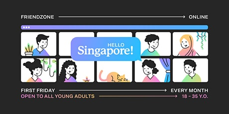 Friendzone Online: Singapore (All neighbourhoods) tickets
