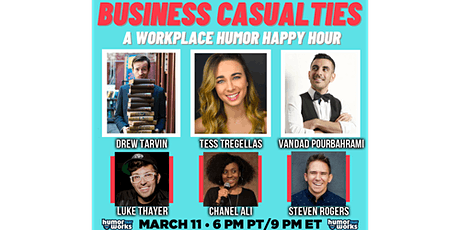 Business Casualties: Humor Happy Hour Tickets