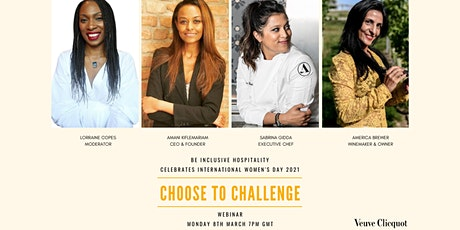 Be Inclusive Hospitality  IWD2021  #Choose To Challenge tickets