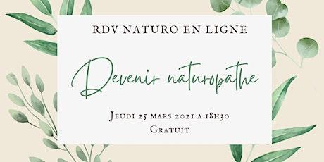 RDV Naturo - Se former en ligne au métier de naturopathe billets