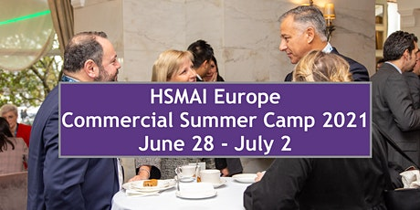 HSMAI Europe Commercial Summer Camp 2021 tickets