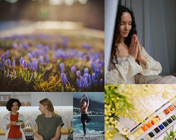 Spring Equinox Celebration Day: Online Miniretreat image