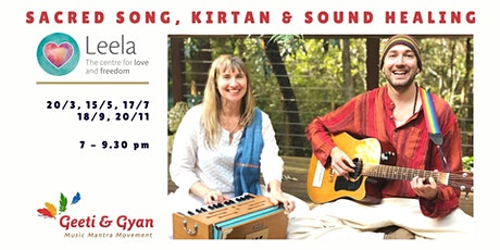 Sacred Song, Movement & Sound Healing with Geeti & Gyan tickets
