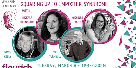#IWD2021 -  Squaring up to Imposter Syndrome tickets