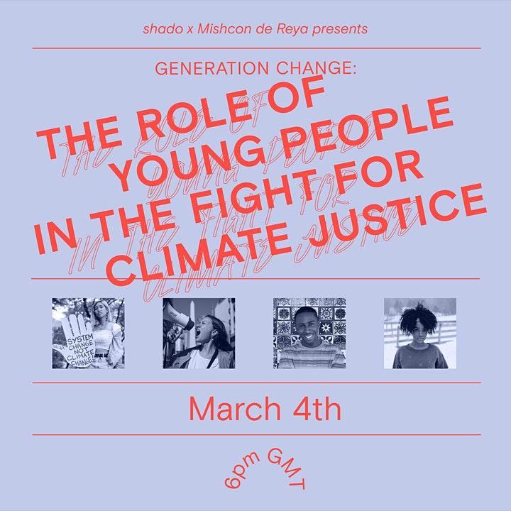 Generation Change: the role of youth in the fight for climate justice image