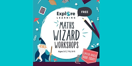Explore Learning Maths Workshop: Maths Sorcerer. For 8-9 years old tickets