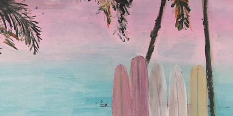 private event Leonie Johns   - paint and sip classes- Pink Skies tickets