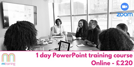 PowerPoint Training Course - Online tickets