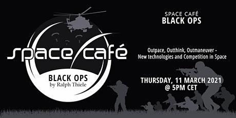 "Space Café  -  ""Black Ops by Ralph Thiele"" #3 tickets"