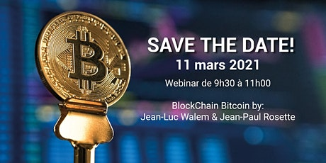 BlockChain Bitcoin - Webinar tickets