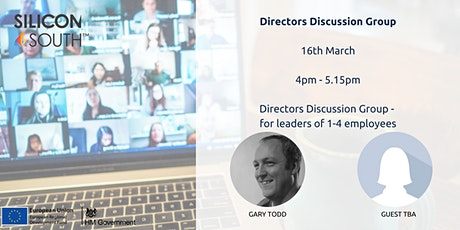 Directors Discussion Group - for leaders with 1-4 employees tickets