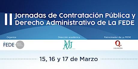 II Jornadas sobre Contratación Pública de LAFEDE. entradas