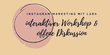 Instagram Wachstum & Community Aufbau Tickets
