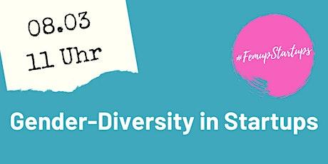 Gender-Diversity in Startups tickets
