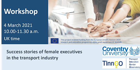 Success stories of female executives in the transport industry tickets