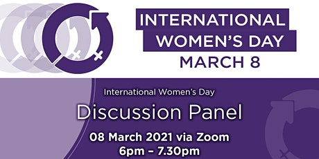 International Women's Day Discussion Panel via Zoom tickets