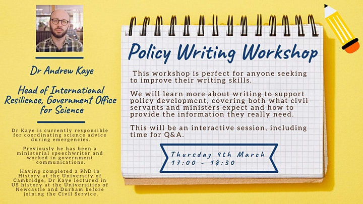 Policy Writing Workshop image