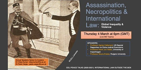 Global Inequality and Violence tickets